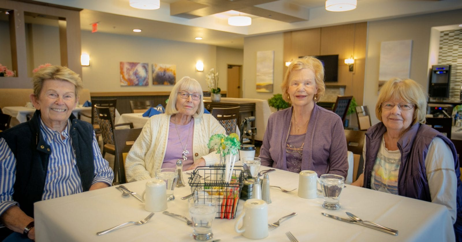 Veranda Senior Living has superb dining